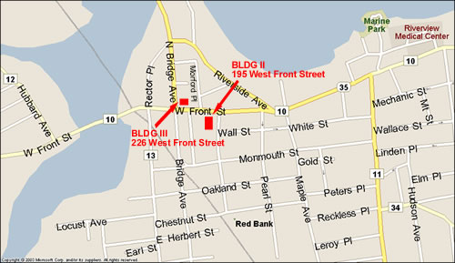 Red Bank Map